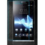 Ультратонкое износоустойчивое сколостойкое олеофобное защитное стекло-пленка для Sony Xperia S