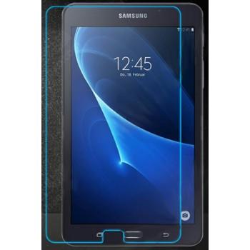 Ультратонкое износоустойчивое сколостойкое олеофобное защитное стекло-пленка для Samsung Galaxy Tab A 7 (2016)