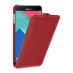 Кожаный чехол вертикальная книжка (нат. кожа) для Samsung Galaxy A9