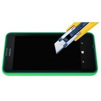 Ультратонкое износоустойчивое сколостойкое олеофобное защитное стекло-пленка для Nokia Lumia 630