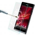 Ультратонкое износоустойчивое сколостойкое олеофобное защитное стекло-пленка для Sony Xperia M