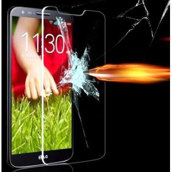 Ультратонкое износоустойчивое сколостойкое олеофобное защитное стекло-пленка для LG Optimus G2