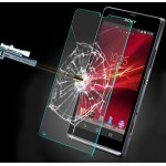 Ультратонкое износоустойчивое сколостойкое олеофобное защитное стекло-пленка для Sony Xperia SP