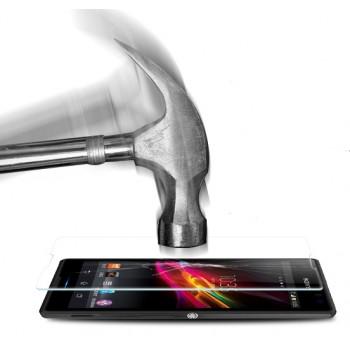 Ультратонкое износоустойчивое сколостойкое олеофобное защитное стекло-пленка для Sony Xperia C