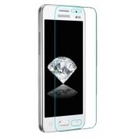 Ультратонкое износоустойчивое сколостойкое олеофобное защитное стекло-пленка для Samsung Galaxy Core 2