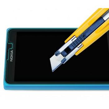 Ультратонкое износоустойчивое сколостойкое олеофобное защитное стекло-пленка для Nokia X / X+