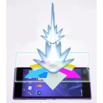 Ультратонкое износоустойчивое сколостойкое олеофобное защитное стекло-пленка для Sony Xperia T3