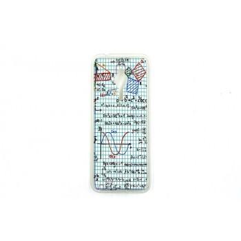 Силиконовый матовый дизайнерский чехол с принтом для Nokia 230