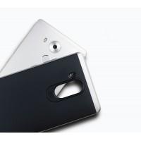 Антиударный гибридный силиконовый чехол с поликарбонатным бампером для Huawei Mate 8