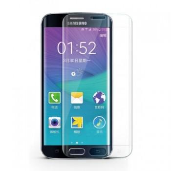 Ультратонкая износоустойчивая сколостойкая олеофобная защитная объемная стеклянная панель на плоскую и изогнутые поверхности экрана для Samsung Galaxy S7 Edge