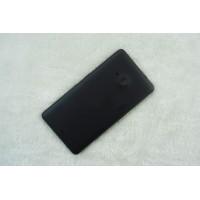 Оригинальный встраиваемый пластиковый матовый непрозрачный чехол для Microsoft Lumia 535 Черный