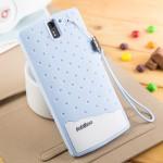 Силиконовый дизайнерский фигурный чехол для OnePlus One