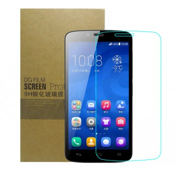 Ультратонкое износоустойчивое сколостойкое олеофобное защитное стекло-пленка для Huawei Honor 3C Lite