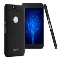 Пластиковый матовый чехол с повышенной шероховатостью для Google Huawei Nexus 6P Черный