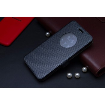 Чехол флип с активным окном и застежкой для ASUS Zenfone 5
