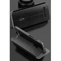 Чехол флип водоотталкивающий для ASUS Zenfone 5 Черный