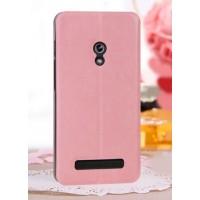 Чехол флип водоотталкивающий для ASUS Zenfone 5 Розовый