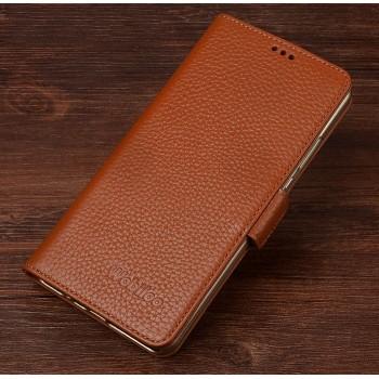 Кожаный чехол портмоне (нат. кожа) для Xiaomi MI5