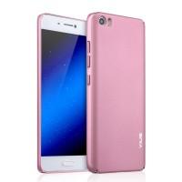 Пластиковый матовый непрозрачный чехол с улучшенной защитой корпуса для Xiaomi MI5 Розовый