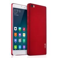 Пластиковый матовый непрозрачный чехол с улучшенной защитой корпуса для Xiaomi MI5 Красный