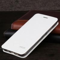 Чехол флип подставка на силиконовой основе текстура Соты для Xiaomi MI5 Белый