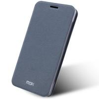 Текстурный чехол флип подставка на силиконовой основе для LG G5 Серый