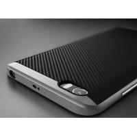 Гибридный противоударный чехол силикон/поликарбонат для Xiaomi MI5 Белый