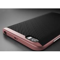 Гибридный противоударный чехол силикон/поликарбонат для Xiaomi MI5 Розовый