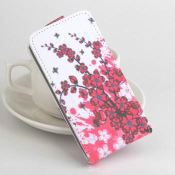 Дизайнерский чехол вертикальная книжка на силиконовой основе с полноповерхностным принтом и отделением для карт для Xiaomi Mi4S