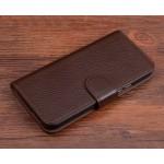 Кожаный чехол портмоне (нат. кожа) с магнитной застежкой для Xiaomi Mi4S
