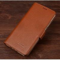Кожаный чехол портмоне (нат. кожа) для Xiaomi Mi4S