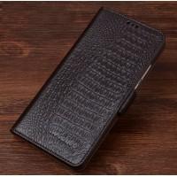 Кожаный чехол портмоне (нат. кожа крокодила) для Xiaomi Mi4S