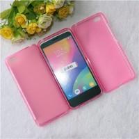 Силиконовый матовый полупрозрачный чехол для Xiaomi MI5 Розовый