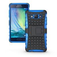 Силиконовый чехол экстрим защита для Samsung Galaxy A5 Синий