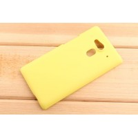 Пластиковый чехол для Acer Liquid Z5 Желтый