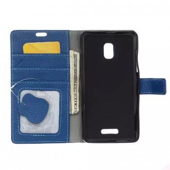 Чехол портмоне подставка с магнитной защелкой для Alcatel OneTouch Pop Star 3G 5022d