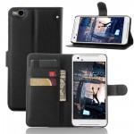 Чехол портмоне подставка с защелкой для HTC One X9