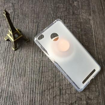 Силиконовый матовый полупрозрачный чехол для Xiaomi RedMi 3 Pro/3S