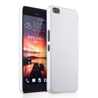 Пластиковый матовый непрозрачный чехол для HTC One X9 Белый