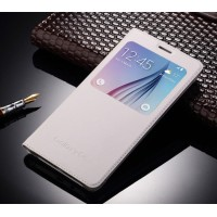 Чехол флип на пластиковой основе с окном вызова для Samsung Galaxy J7 (2016)