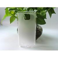 Силиконовый матовый полупрозрачный чехол для LG X cam Белый