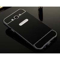 Двухкомпонентный чехол с металлическим бампером и поликарбонатной накладкой для Samsung Galaxy J5 (2016)