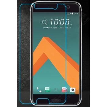 Ультратонкое износоустойчивое сколостойкое олеофобное защитное стекло-пленка для HTC 10