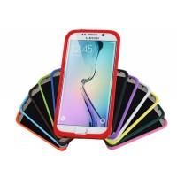 Силиконовый матовый нескользящий софт-тач премиум чехол для Samsung Galaxy S7 Edge