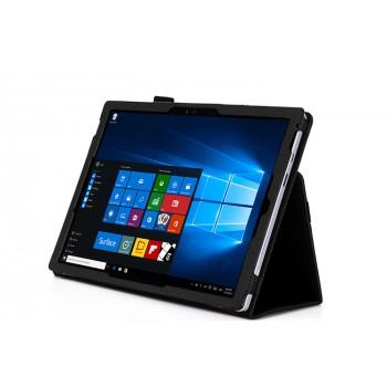 Чехол подставка с внутренними отсеками и рамочной защитой экрана для Microsoft Surface Pro 4