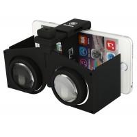Компактные легкие складные очки виртуальной реальности для гаджетов диагональю до 6 дюймов для Nokia Asha 500 (Dual Sim)