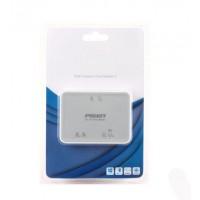 Многофункциональный универсальный USB 2.0 кардридер Micro SD/SD/M2/XD/MemoryStick/CompactFlash Серый