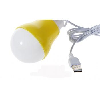 Портативная USB 2.0 LED-лампа формат Лампочка