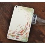 Силиконовый матовый дизайнерский чехол с эксклюзивной серией принтов для Huawei MediaPad X2