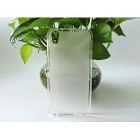 Силиконовый матовый полупрозрачный чехол для Alcatel Idol 4/BlackBerry DTEK50 Белый